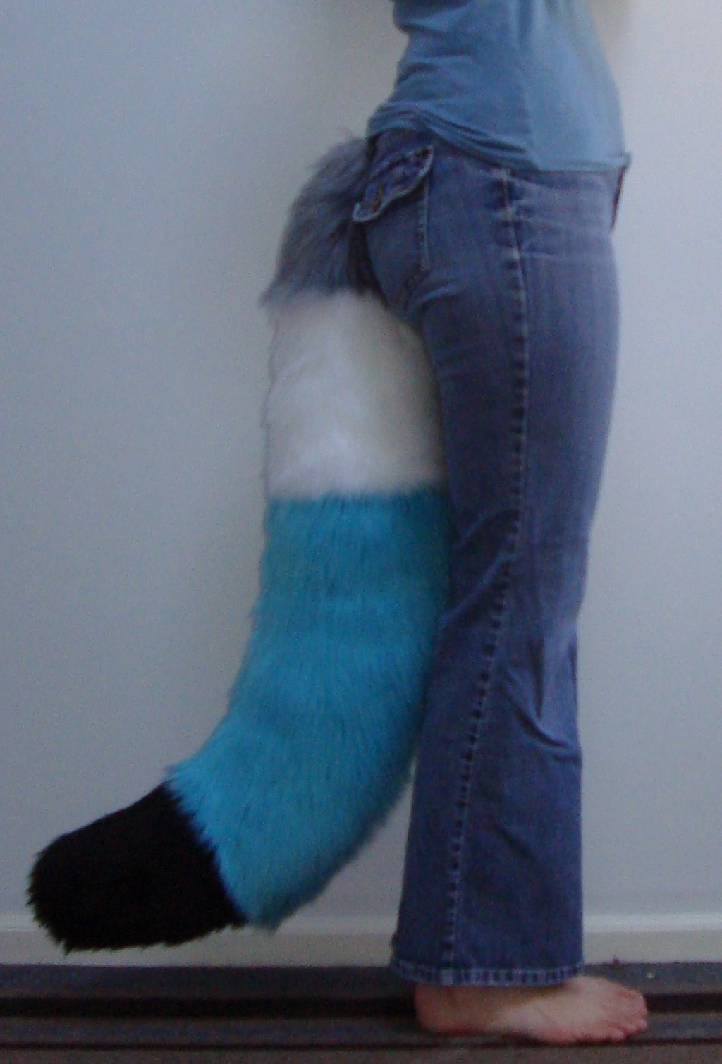 4 Colored tail