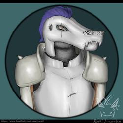 [COMMISSION] - Full Metal Croc