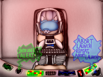 The Bagon Spacecraft Hijacker (Commission)