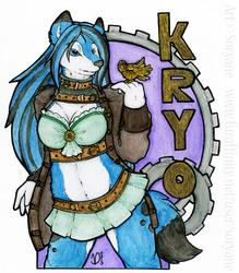 Kryo - Steampunk Badge