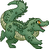Pixel Alligator Icon
