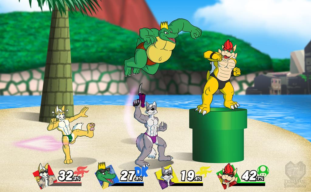 Smash Bros - Speedo Edition