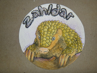 WN Commission: watercolor badge for Zahldar
