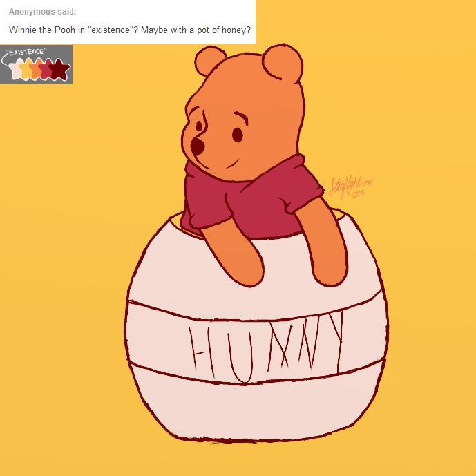 Palette challenge: Winnie the Pooh