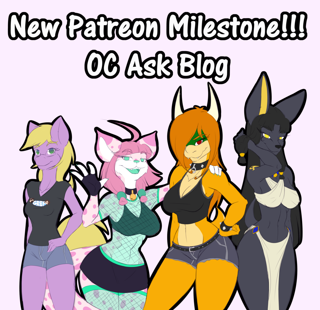 Patreon Mileston Added - NSFW Ask Blog!