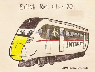 InterCity Swallow Class 801