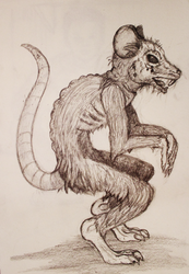 Sexy Rat Sketch Patreon Gallery Preview