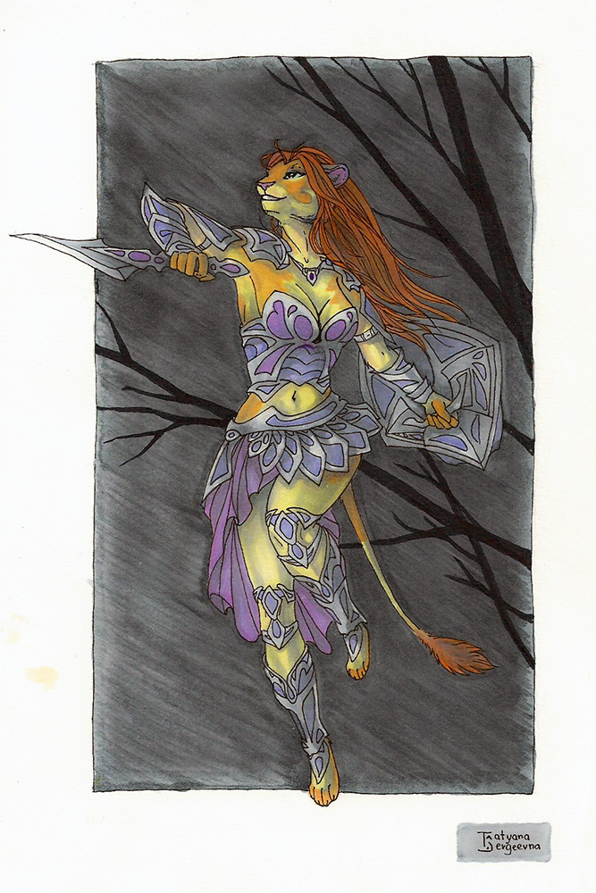 Most recent image: Warrior