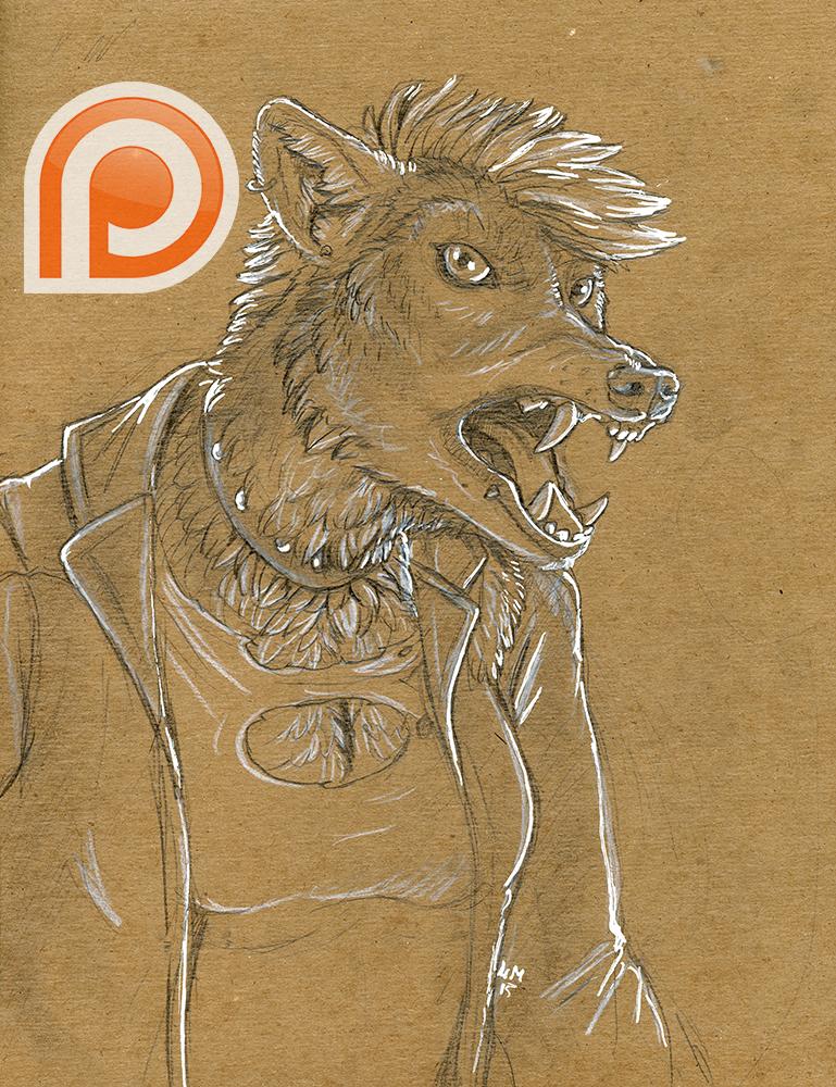 [Patreon]-(were)wolf punk