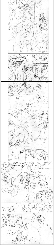 Big Bad Wolf vs Red comic - 2