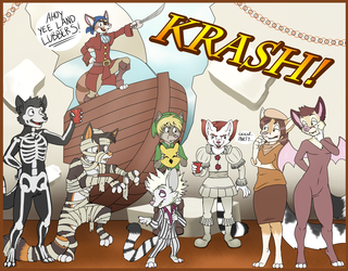 Cacomistle Halloween Party! By Maddworld