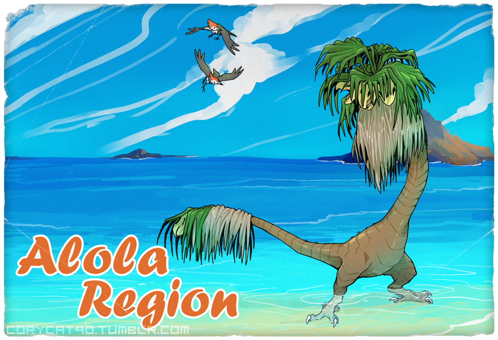 Most recent image: Alola Region