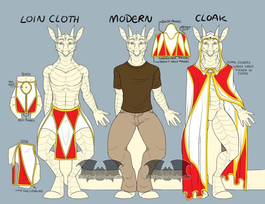 Clothing Ref - Wigran / Arcten
