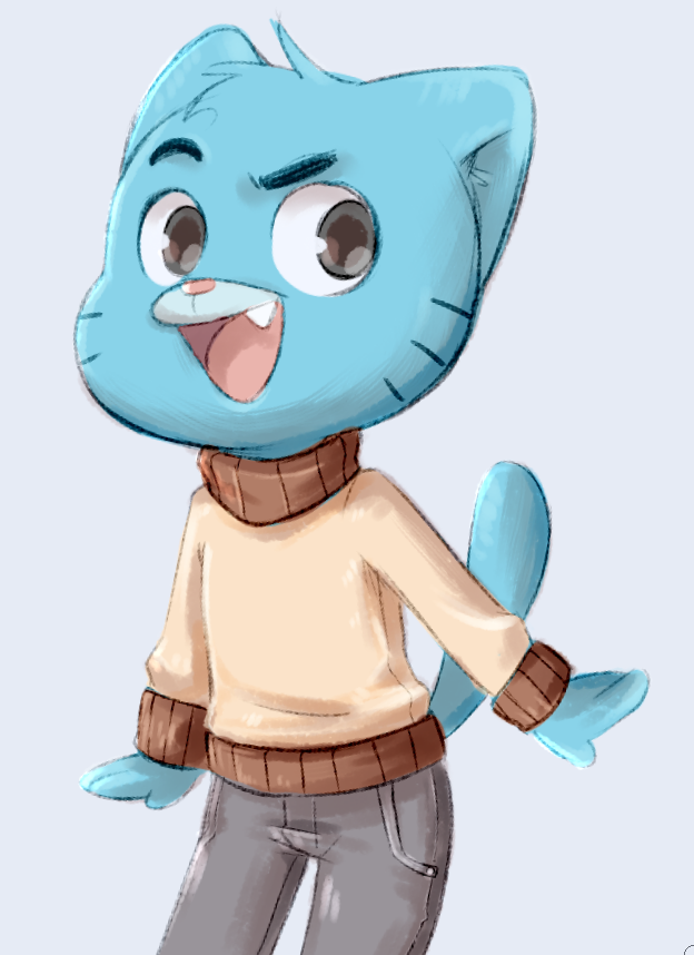 Most recent image: Gumball Watterson
