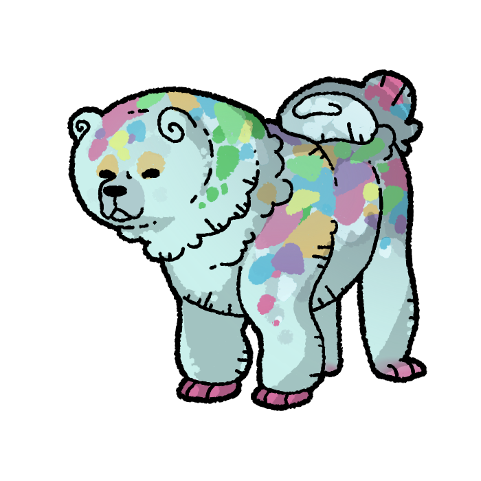 Most recent image: candy merle - chowchow