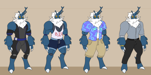 Stag!Sam Outfits