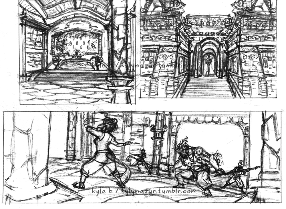 Featured image: Temple Fight WIP