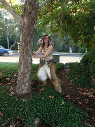My Halloween Faun Costume