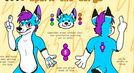 Sparx reference sheet
