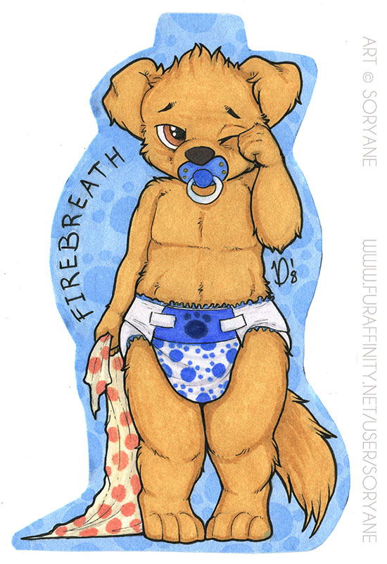 Firebreath - Chibi Badge