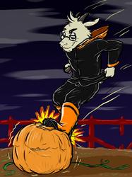 [by Kenzik] Pumpkin vs. Goat