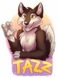[C]Tazz badge