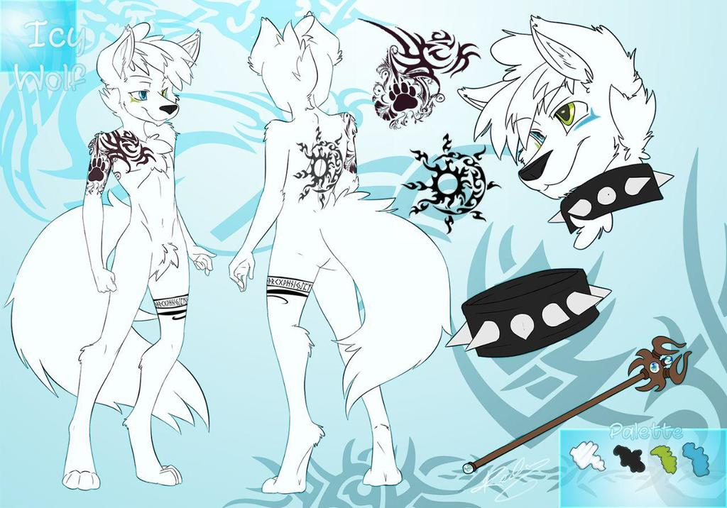 Icy Wolf Reference sheet,