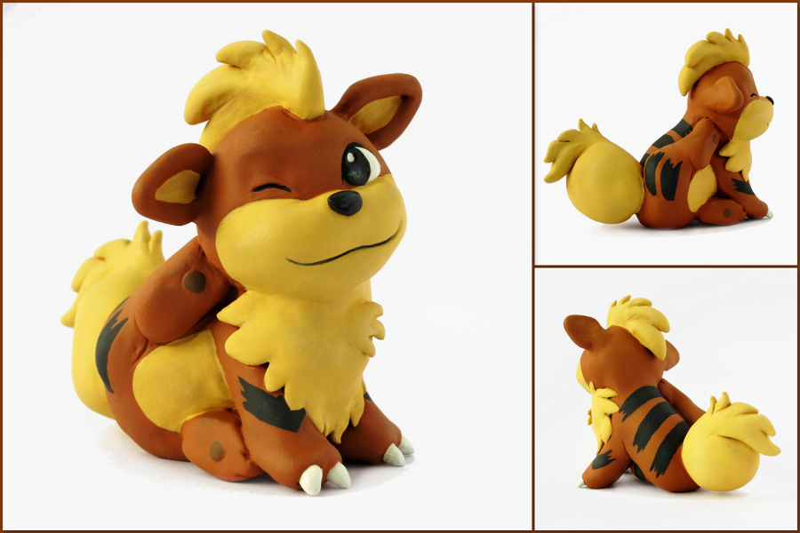 Featured image: Itchy Growlithe Sculpture