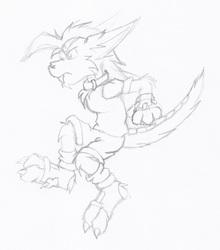Sketch - Zech Pose