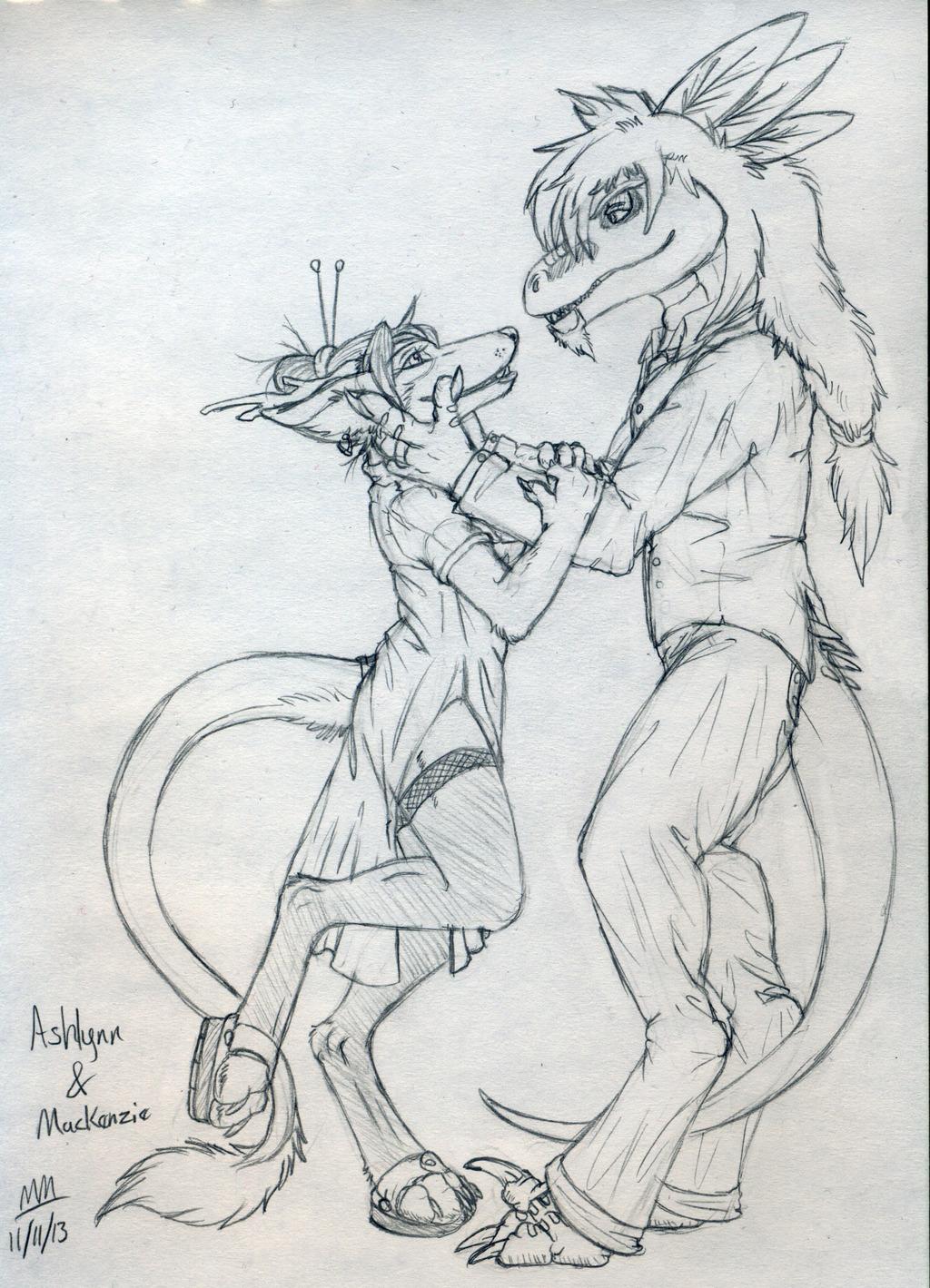 Ashlynn and Mackenzie (Gift Art)