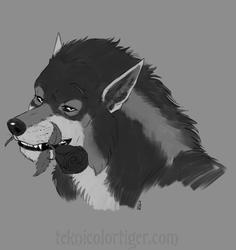 Charming Werewolf by TeknicolorTiger