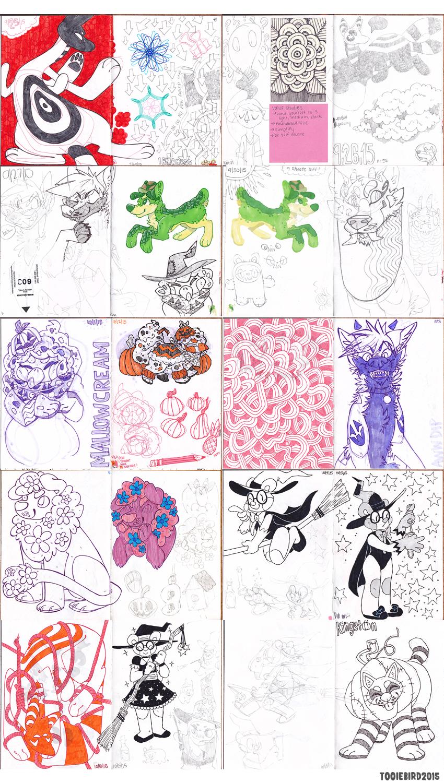 Sketchbook 74 - Part 8