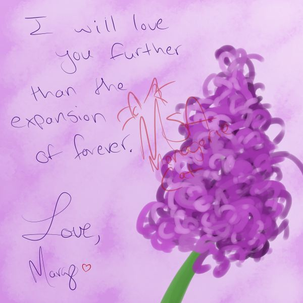 Lilac Love Note