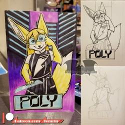 VF2020 - Poly Badge