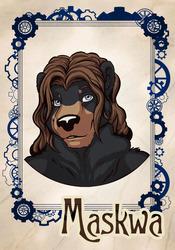 Badge: Maskwa (Fur-Eh! 2015)