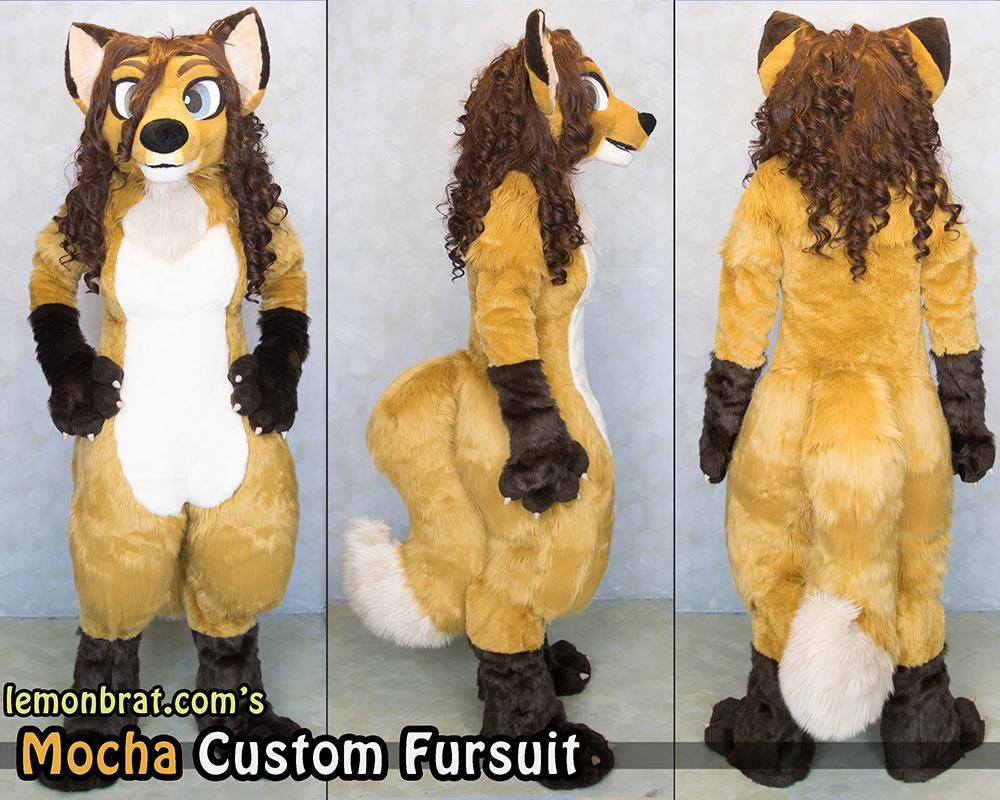 Mocha Custom Fursuit