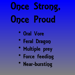 Once Strong, Once Proud