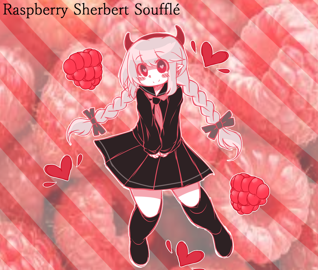 【UTAU アイコ】 Raspberry Sherbert Soufflé 【ORIGINAL】