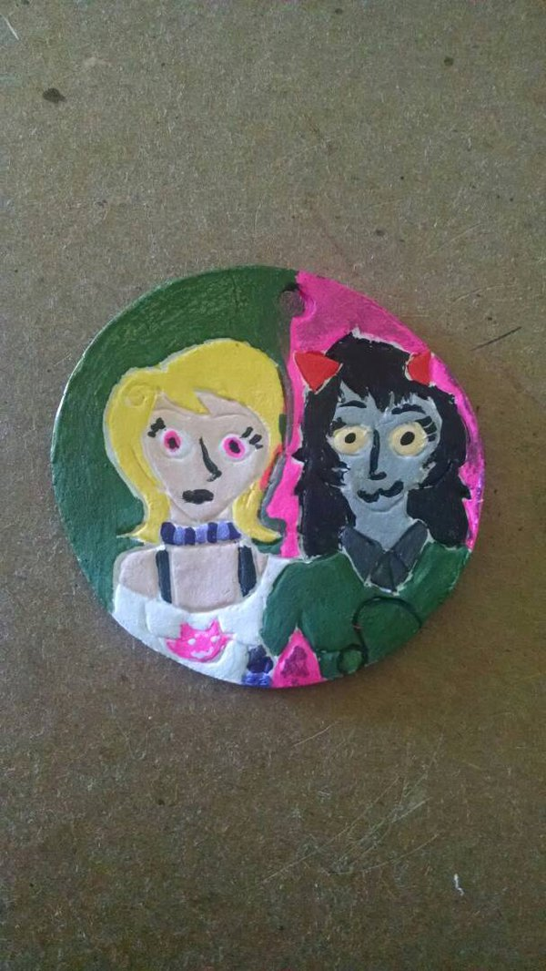 Most recent image: Roxy and Meulin Keychain