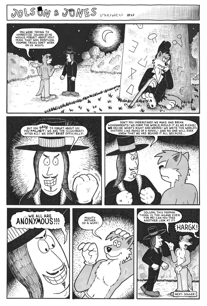 Jolson & Jones #67 - The (Non-)Existence of the Illusionati