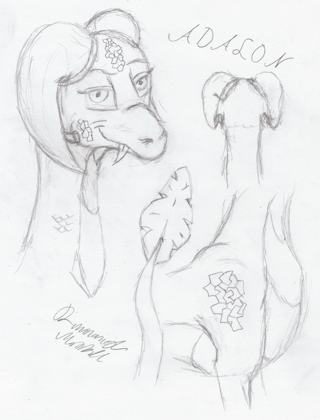 Adalon doodling