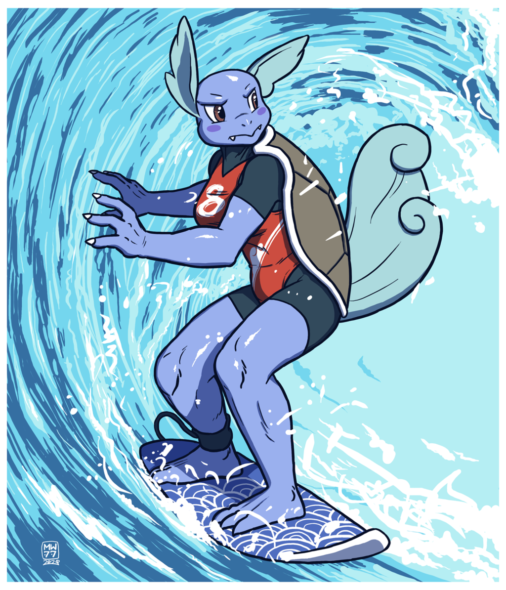 WARTORTLE : Go with the flow