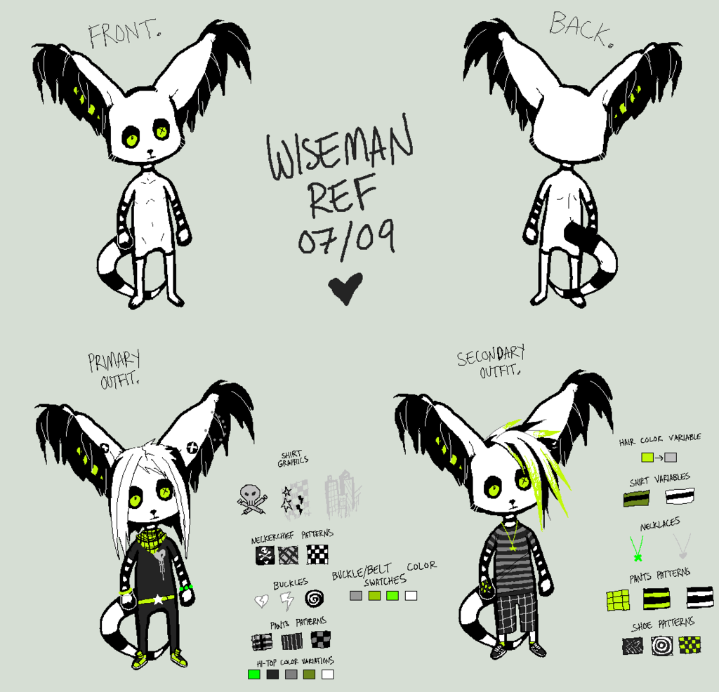 [Outdated] Wiseman Chibi Ref