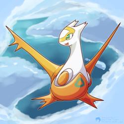#380 - The Eon Pokemon - Latias (Shiny)
