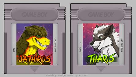 Gameboy Badges Jathiros & Tharis