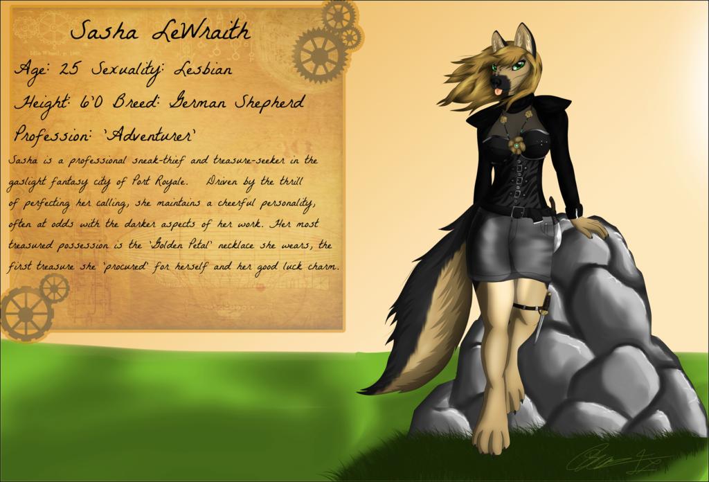 Most recent image: Sasha Lewraith - Character Profile