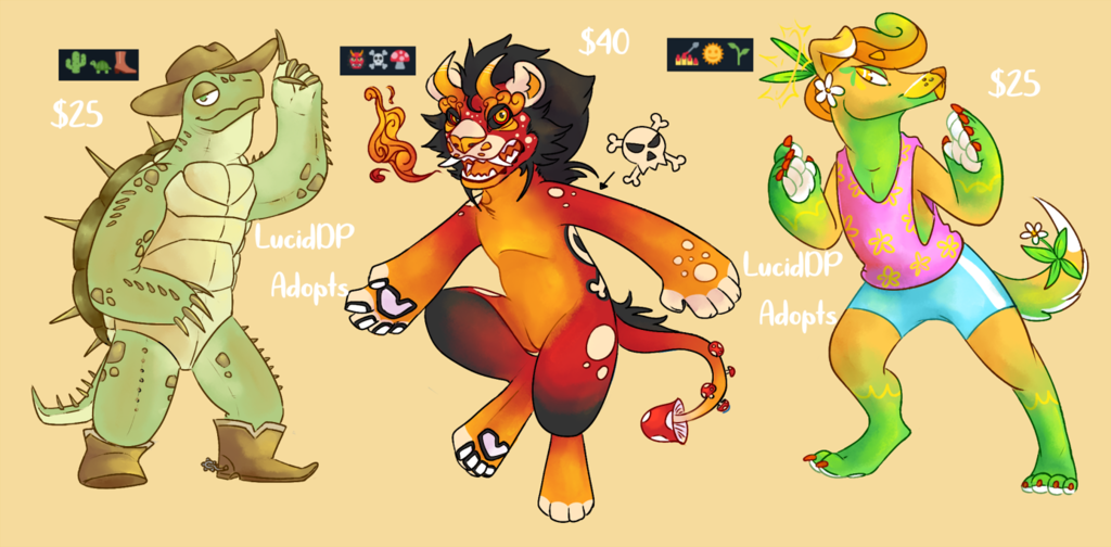 Most recent image: Emoji Adopts for sale!