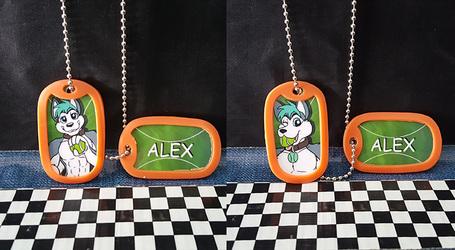 Dogtag Badges - Alex