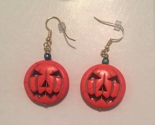 Autumn Pumpkin Earrings