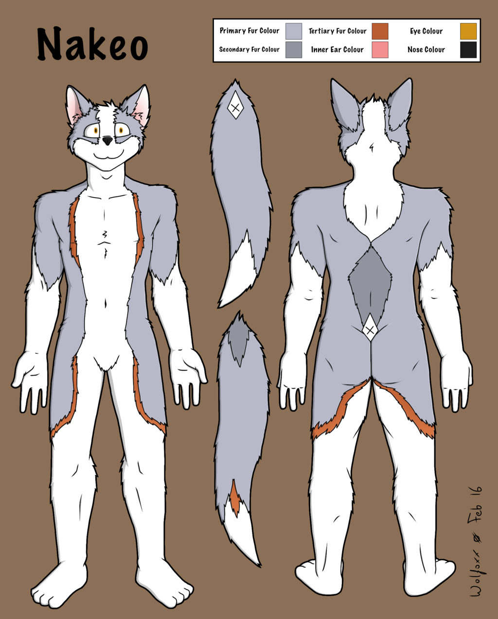 Nakeo Reference Sheet